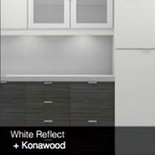 White Reflect Konawood color