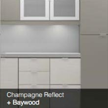 Champagne Reflect Baywood