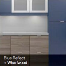 Blue Reflect Wharfwood color