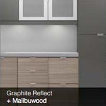 Graphite Reflect Malibuwood color