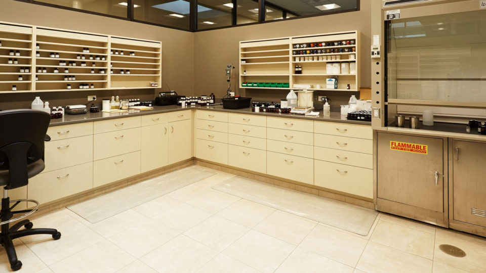 Healthcare cabinetry